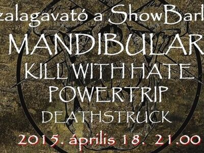 Mandibular 1 év után! - Ín-szalagavató Fesztivál a Showbarlangban