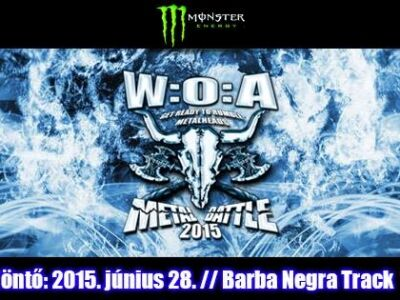 Wacken Metal Battle - Döntő @ Barba Negra Track