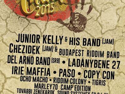 Lb 27 Reggae Camp - A hatvani Jamaica