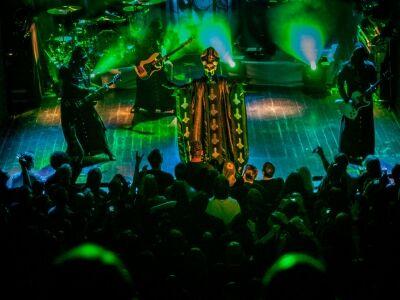 Ghost - Papa Emiratus és zenekara először Magyarországon!