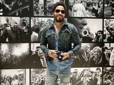 Lenny Kravitz fotótárlata ma Bécsbe érkezett