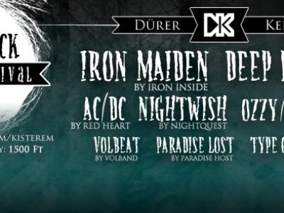 Dirty Black Summer Tribute Fesztivál - 2 napos feldolgozás-orgia a Dürerben