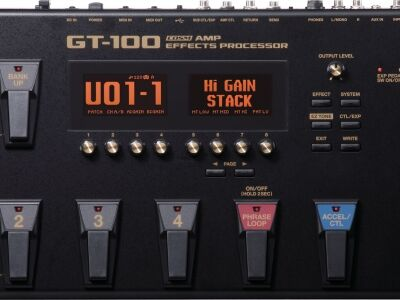 Tajti-Music - BOSS GT-100 padló-multieffekt