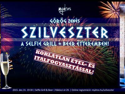 Görög szilveszter a Selfie Grill&Beer-ben
