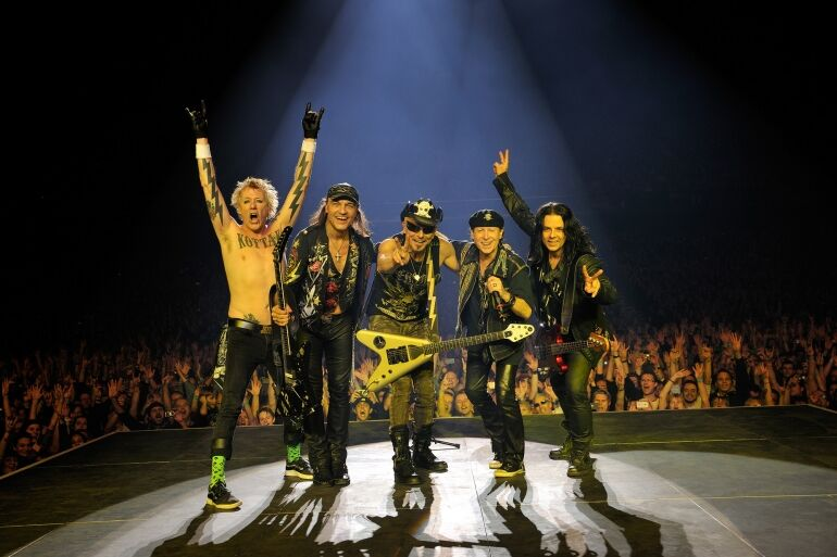 50 éves a Scorpions