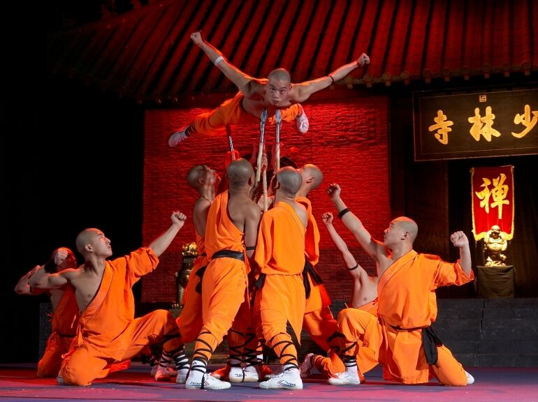 Shaolin Kung-Fu Show