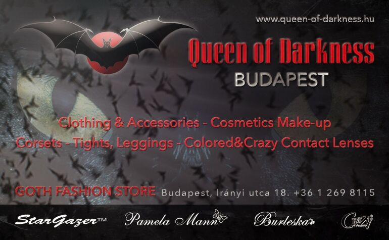A londoni Camden Town legnagyobb márkái a Queen of Darknessnél