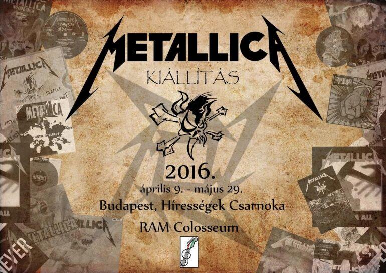 Metallica ereklyék a RAM Colosseumban