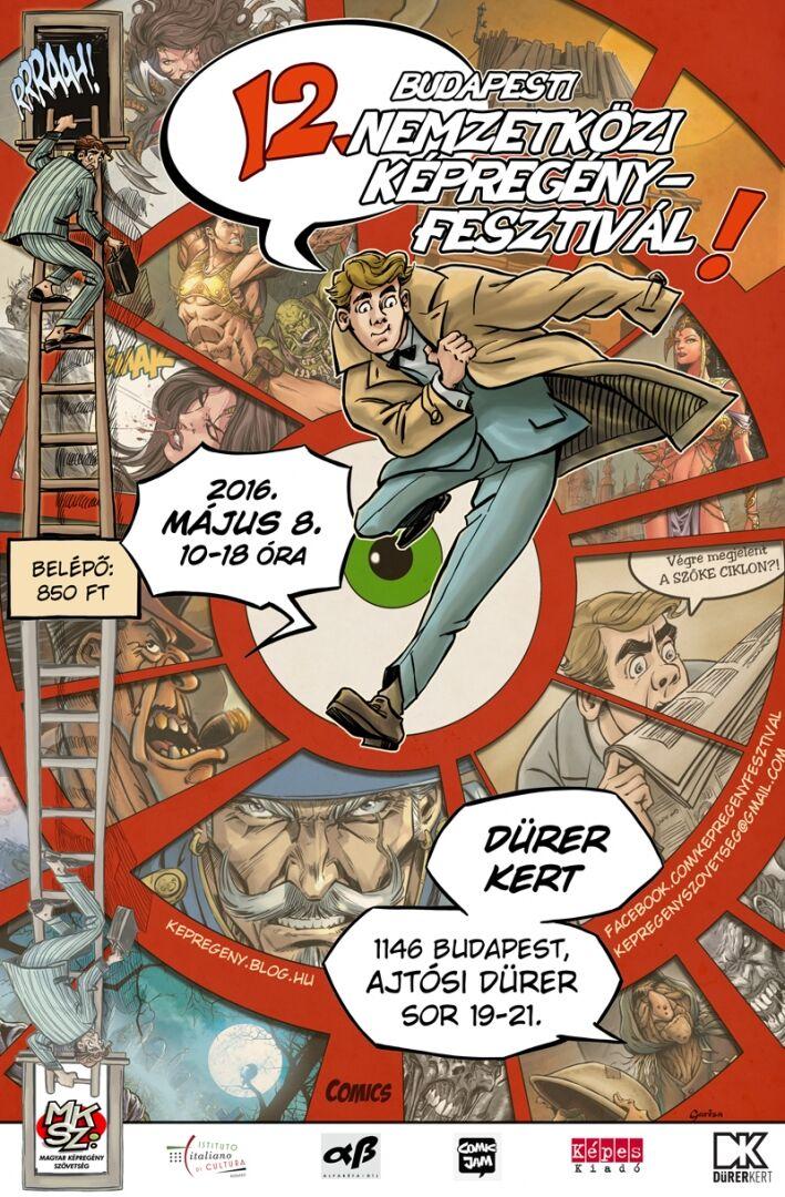 Eisner-díjas vendéggel erősít a Képregényfesztivál