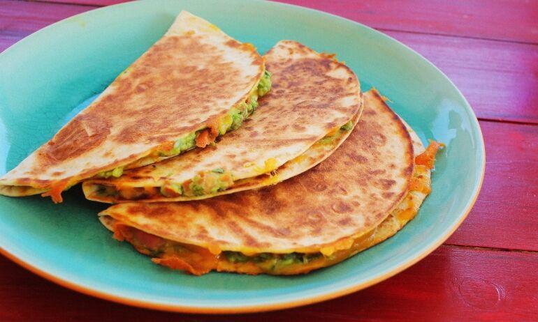 Mexikói szendvics házi tortillával