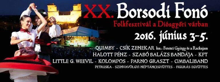 XX. Borsodi Fonó Folk Fesztivál