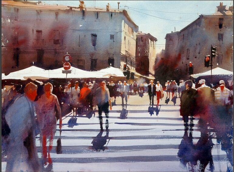 Az akvarell mestere: Alvaro Castagnet