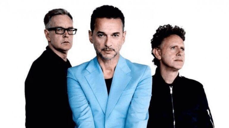 Depeche Mode Spirit lemezbemutató party