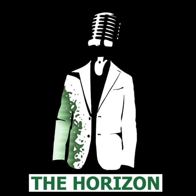Öltönypunk The Horizon-módra
