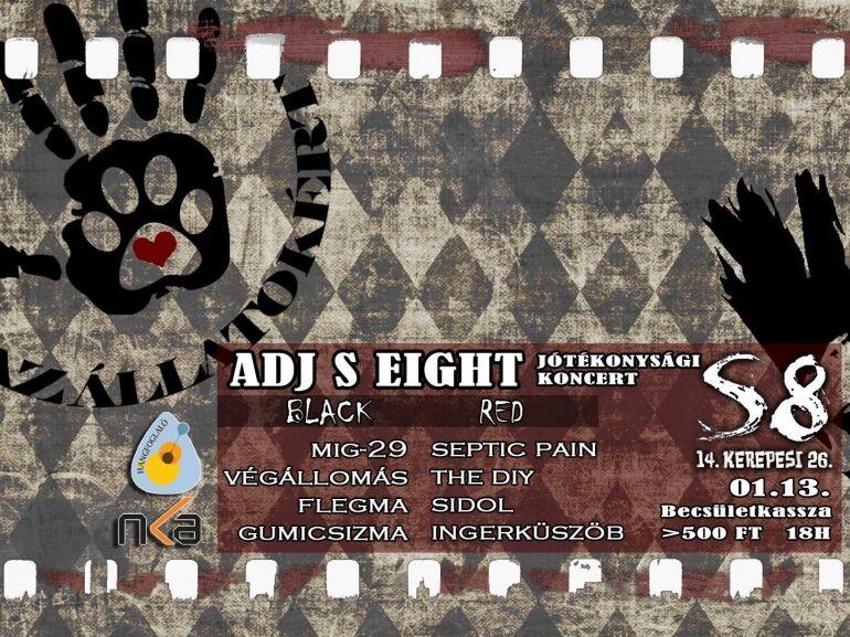 Adj S Eight – Jótékonysági Koncert