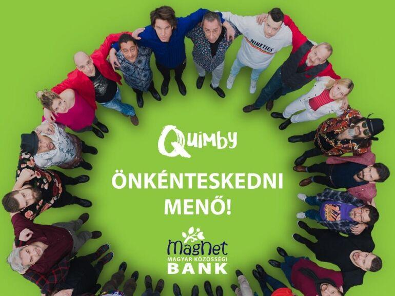 Ingyen Quimby koncertjegy önkénteskedésért cserébe!