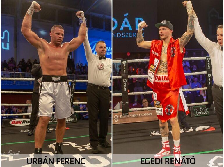 Egedi és Urbán is jó mérkőzést vár magától