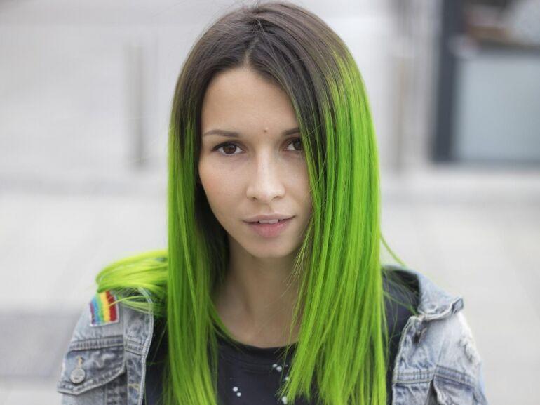 Mert ott lesz egy zöld hajú lány