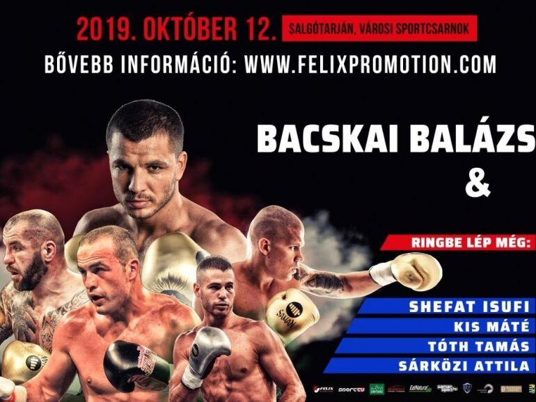 Az október 12-i salgótarjáni boxgála is erős lesz!