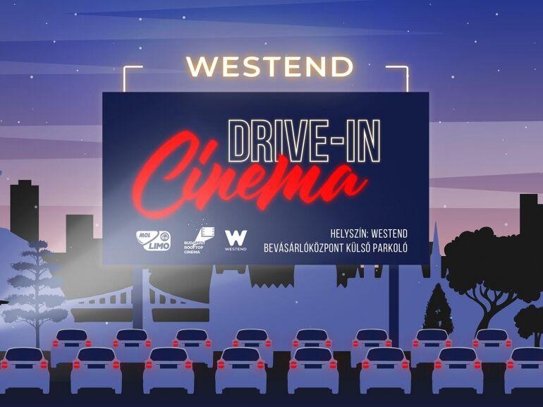 Jelzőfénnyel nyit a Westend Drive-In Cinema autósmozi, elsőként Budapesten