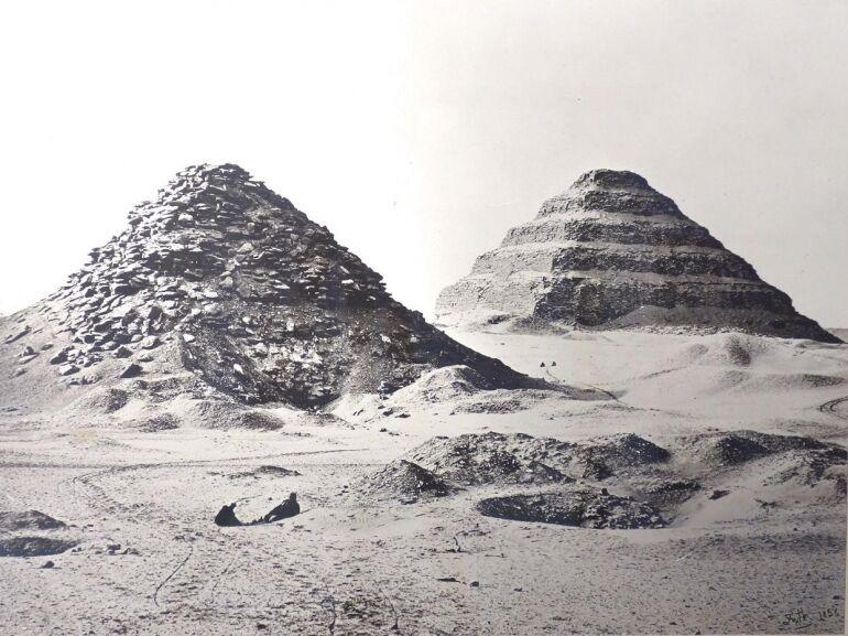Korabeli fotók Egyiptomból és Amerikából