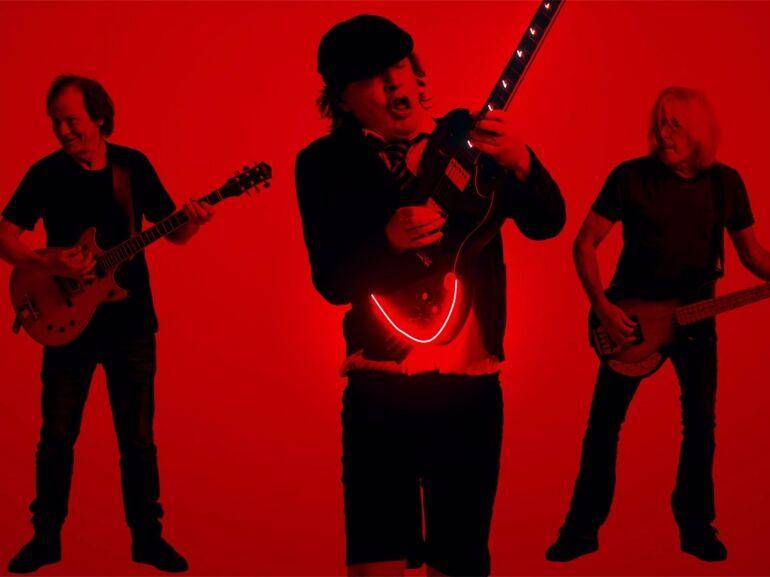 Az AC/DC csapata vadonatúj videóklippel jelentkezett
