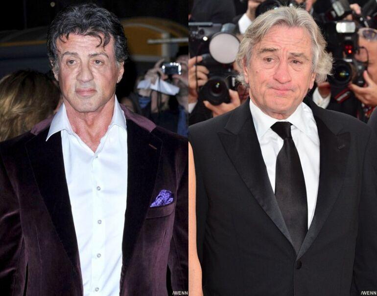 A ringben: Robert De Niro és Sylvester Stallone