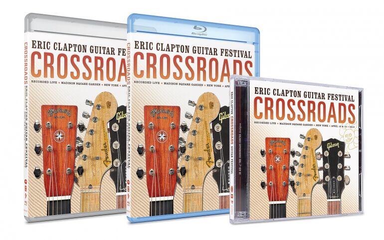 Eric Clapton -  CD-n is kijön a Crossroads Guitar Festival 2013 anyaga