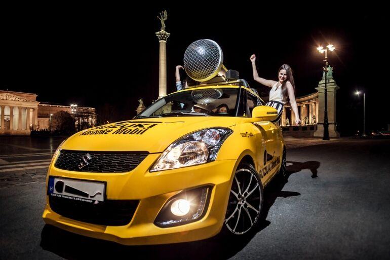 Suzuki Karaoke Mobil - Énekeld el magad a következő buliig!