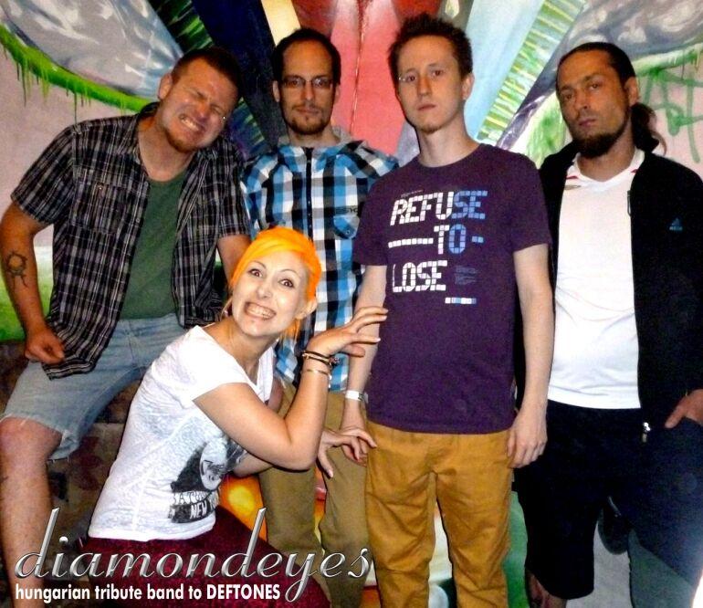 Diamondeyes - tribute to Deftones @ Happy Finish Tribute Fesztivál