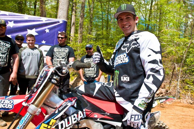 Josh Sheehan, a Nitro Circus Freestyle Motocross sztárja történelmet írt