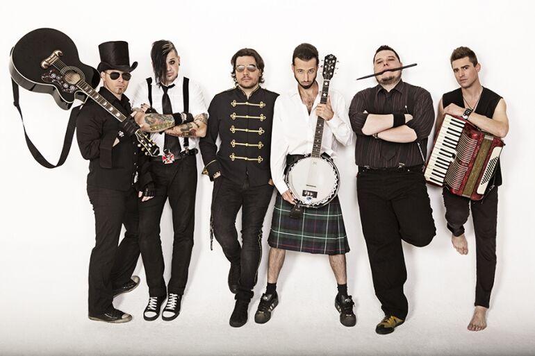 Paddy and the Rats - Koncert a Track-ben és egy új klip!