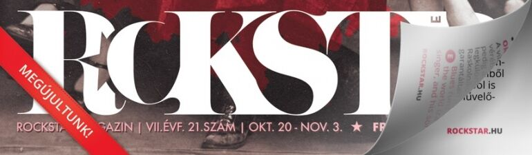 Megjelent a RCKSTR Magazin 7. évfolyamának 21. száma!