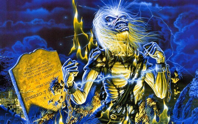Iron Maiden kiállítás